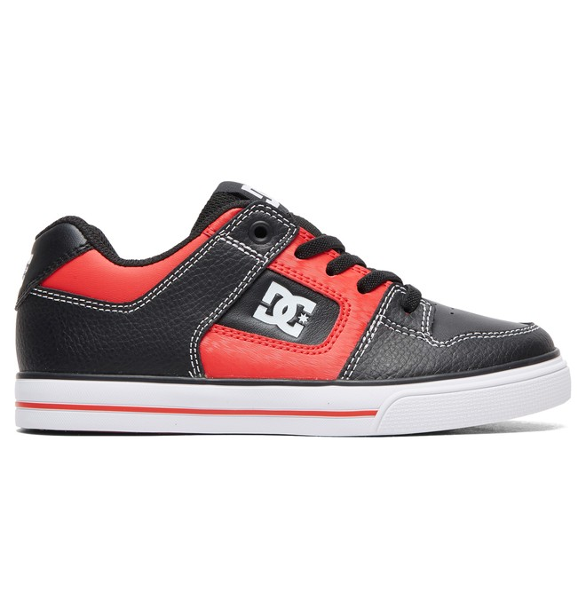 0 Kid's Pure SE Shoes Black ADBS300273 DC Shoes