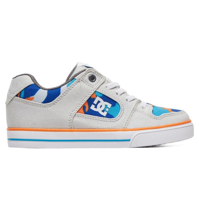 0 Boy's 8-16 Pure SE Shoes Blue ADBS300273 DC Shoes