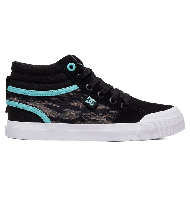 0 Niños 8-16 Zapatos Parte Superior Alta HI SP Evan Negro ADBS300278 DC Shoes