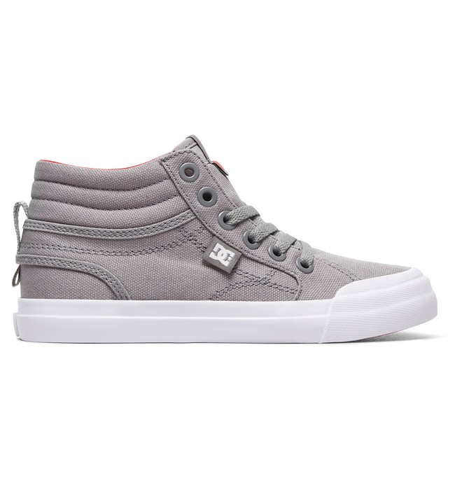 0 Boy's 8-16 Evan HI TX High-Top Shoes Grey ADBS300303 DC Shoes