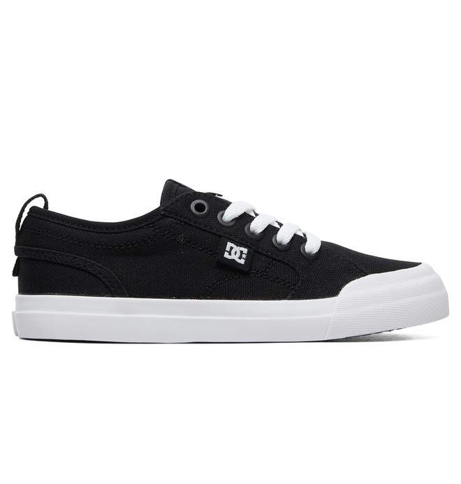 0 Kid's Evan TX Shoes Black ADBS300304 DC Shoes