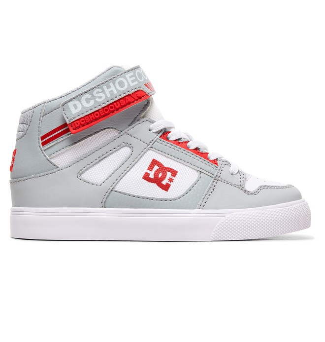 0 Kid's Pure High EV - High-Top Shoes Grey ADBS300324 DC Shoes