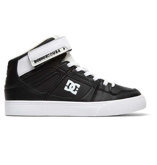 0 Kid's Pure High EV - High-Top Shoes Black ADBS300324 DC Shoes