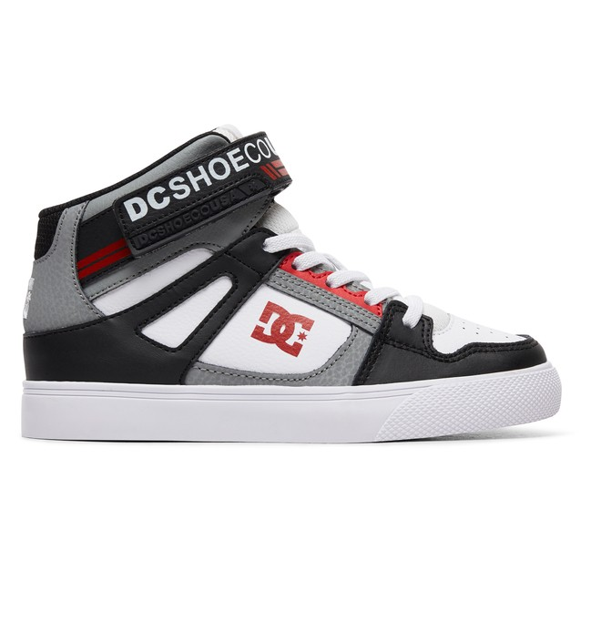 0 Boy's 8-16 Pure High EV High-Top Shoes Black ADBS300324 DC Shoes