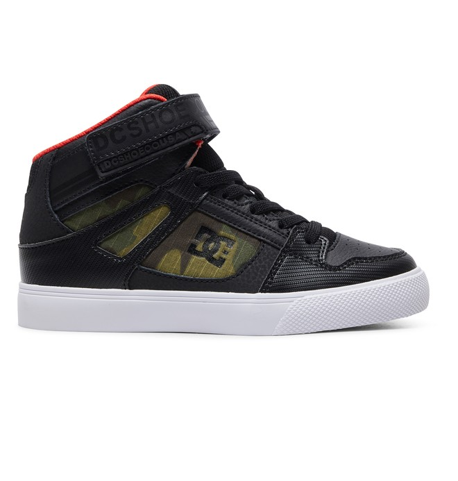 0 Pure Hi SE - Zapatillas Altas para Chicos Gris ADBS300325 DC Shoes