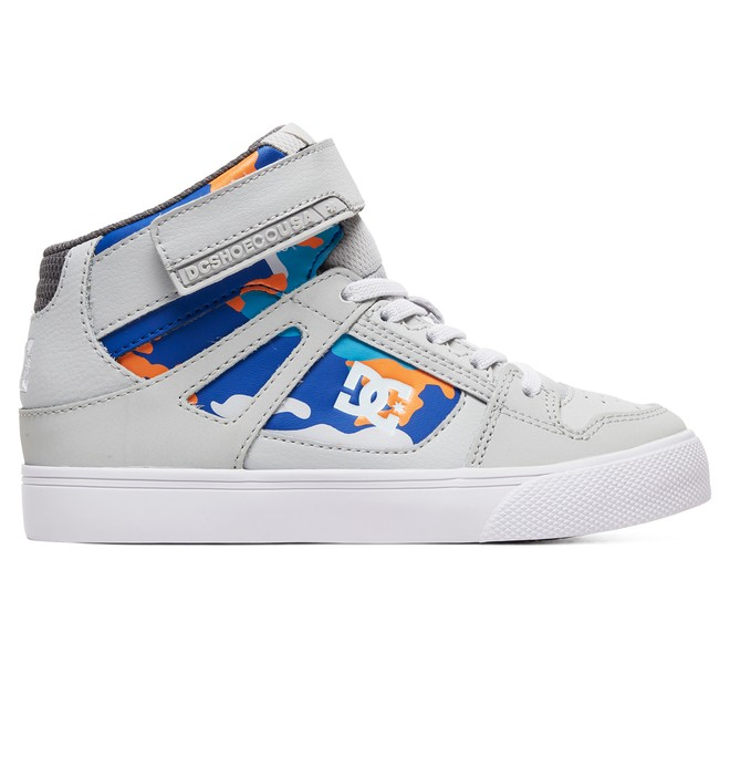 0 Kid's Pure Hi SE - High-Top Shoes Orange ADBS300325 DC Shoes