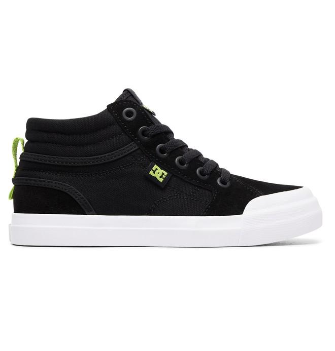 0 Kid's Evan Hi Zip - High-Top Shoes Grey ADBS300330 DC Shoes