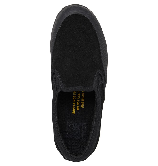 DC Infinite - Slip-On Leather Shoes for Kids  ADBS300356