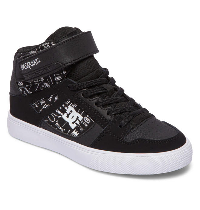BASQ Pure - High-Top Leather Shoes for Boys  ADBS300370