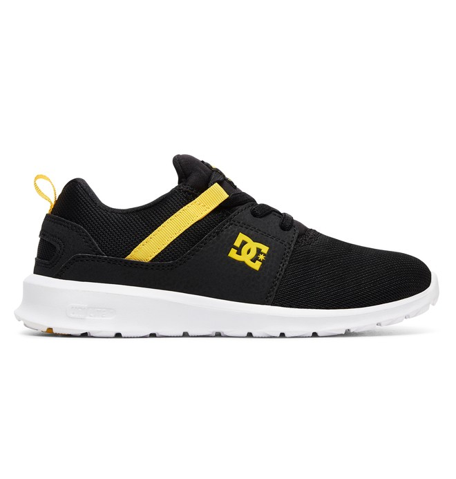 0 Kid's Heathrow Shoes Black ADBS700047 DC Shoes