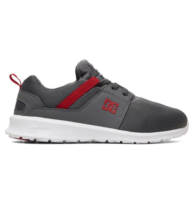 0 Kid's Heathrow Shoes Grey ADBS700047 DC Shoes