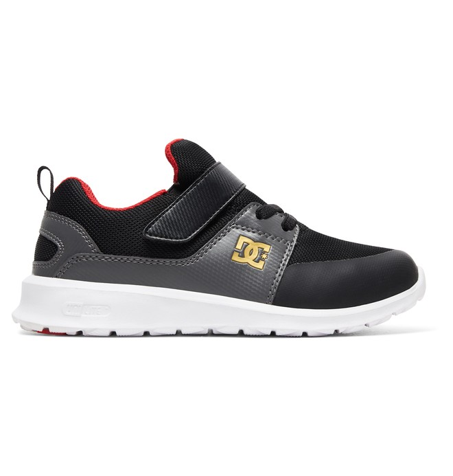 0 Kid's Heathrow Prestige EV Shoes Black ADBS700064 DC Shoes