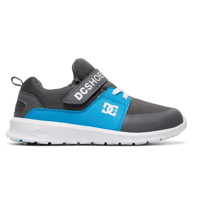 0 Boy's 8-16 Heathrow Prestige EV Shoes Grey ADBS700064 DC Shoes