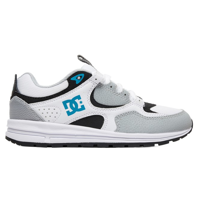 0 Kid's Kalis Lite Shoes Grey ADBS700078 DC Shoes