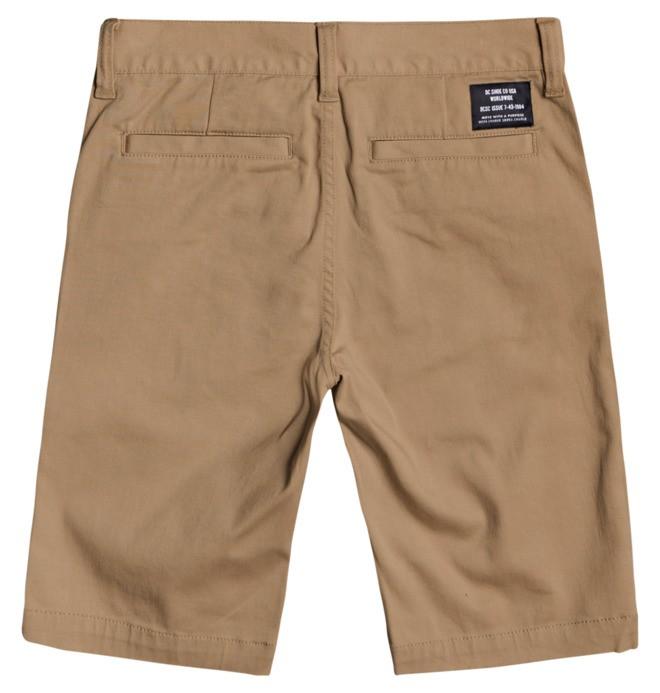 """Worker Chino 18.5"""" Chino Shorts for Boys 8-16  ADBWS03008"""