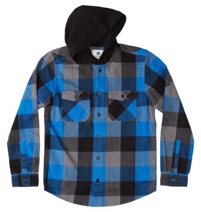Ruckus Ed - Long Sleeve Hooded Shirt for Boys  ADBWT03011