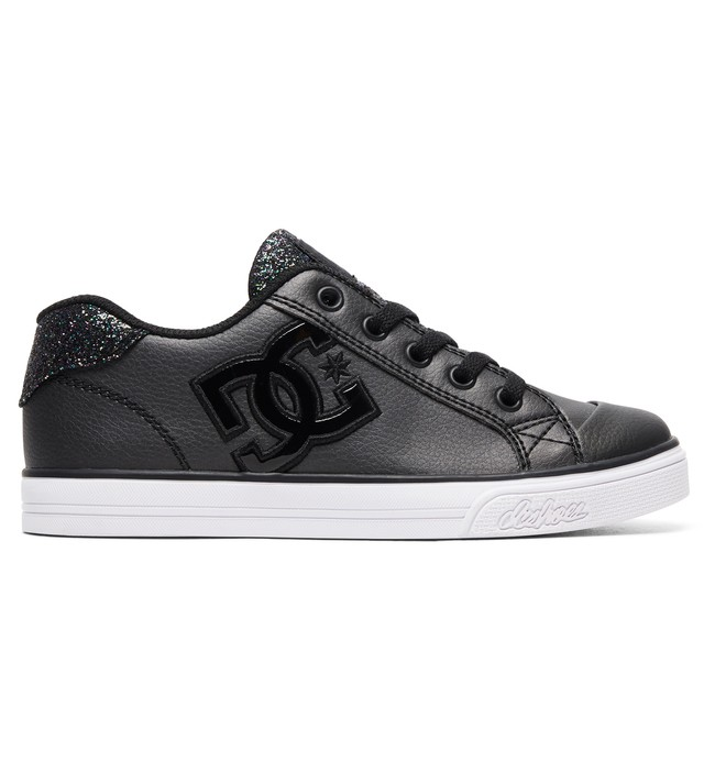 0 Girl's 8-16 Chelsea SE Shoes Black ADGS300042 DC Shoes