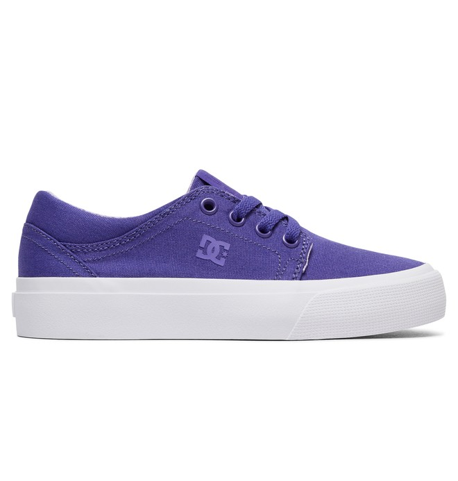 0 Girl's 8-16 Trase TX Shoes Purple ADGS300061 DC Shoes