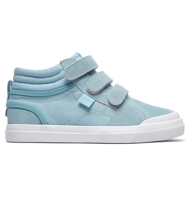 0 Evan HI V - Chaussures montantes pour Fille Bleu ADGS300073 DC Shoes