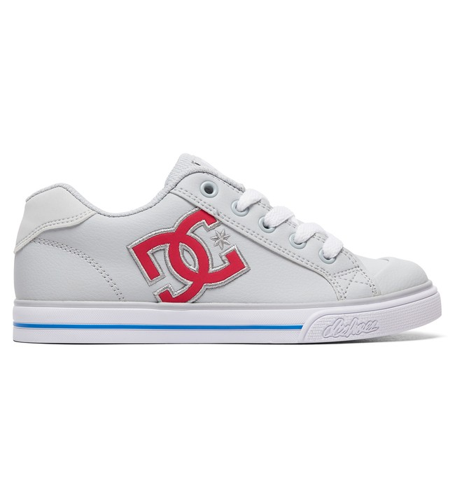 0 Girl's 8-16 Chelsea Shoes Grey ADGS300080 DC Shoes