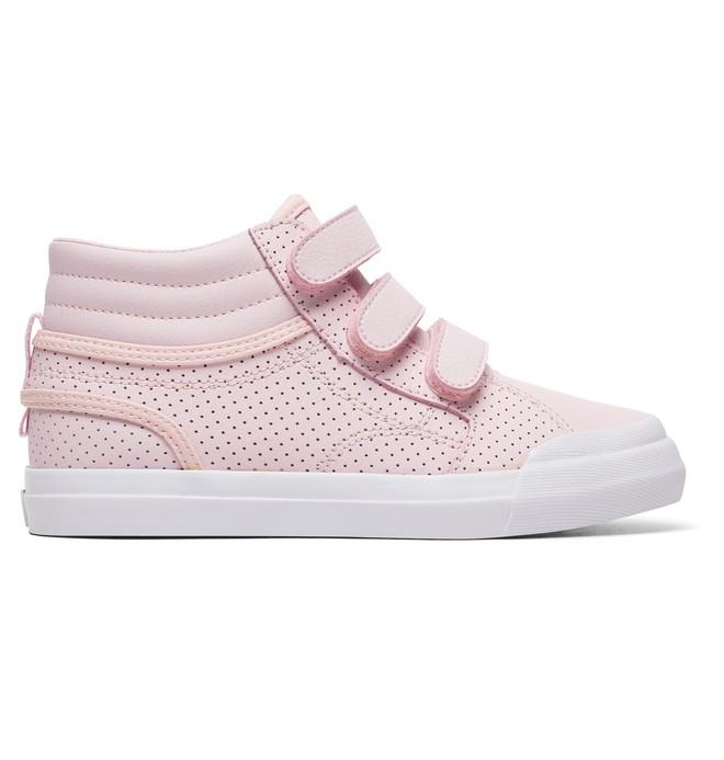 0 Evan HI V SE - Chaussures montantes pour Fille Rose ADGS300081 DC Shoes