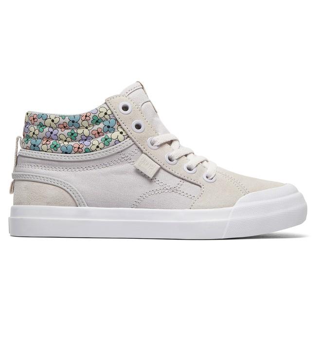 0 Evan HI SP - Chaussures montantes pour Fille Gris ADGS300278 DC Shoes