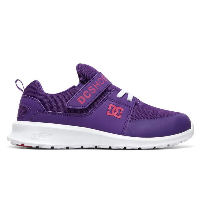 0 Girl's 8-16 Heathrow Prestige SE Shoes Purple ADGS700027 DC Shoes
