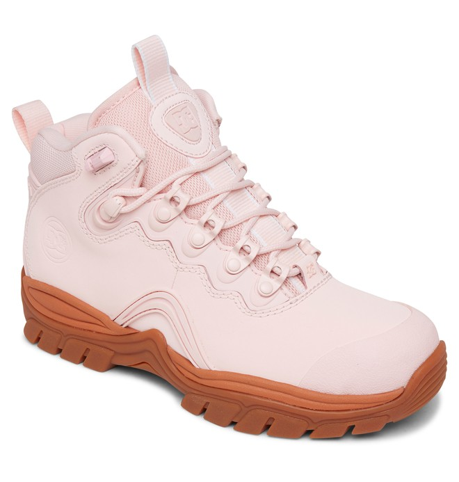 Navigator Leather Lace-up Winter Boots for Women ADJB100009