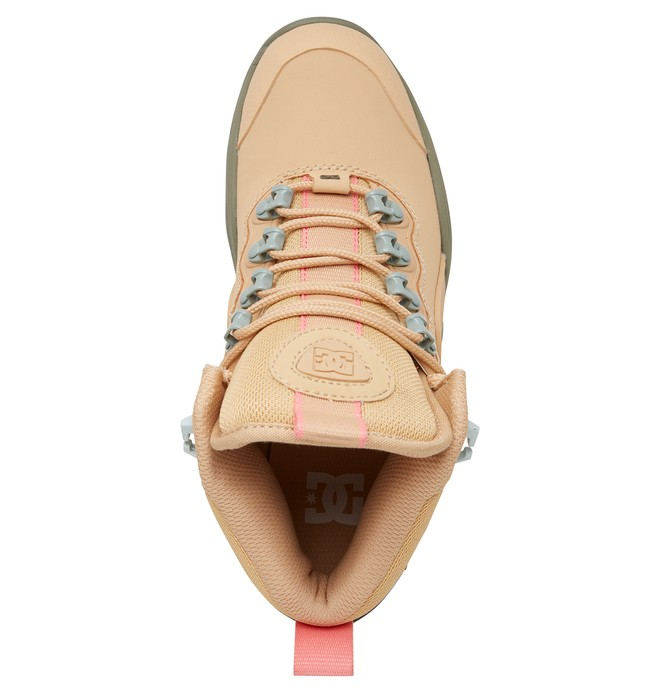 Navigator - Leather Lace-up Winter Boots for Women  ADJB100009