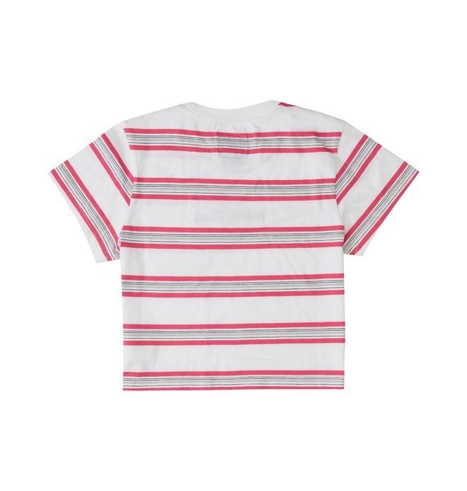 Effortless Stripe - Cropped T-Shirt for Women ADJKT03014
