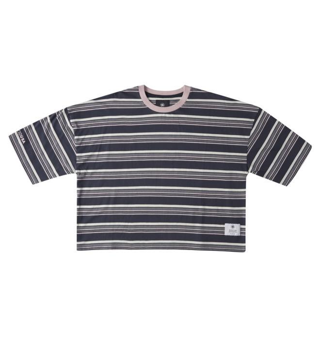 Effortless Stripe - Cropped T-Shirt for Women  ADJKT03019