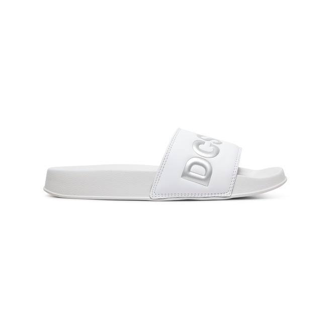 DC Slides SE - Suede Slides for Women  ADJL100020