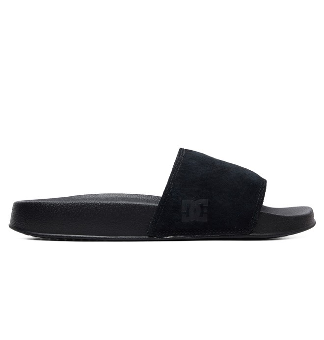 DC Slide SE - Suede Sliders for Women  ADJL100020