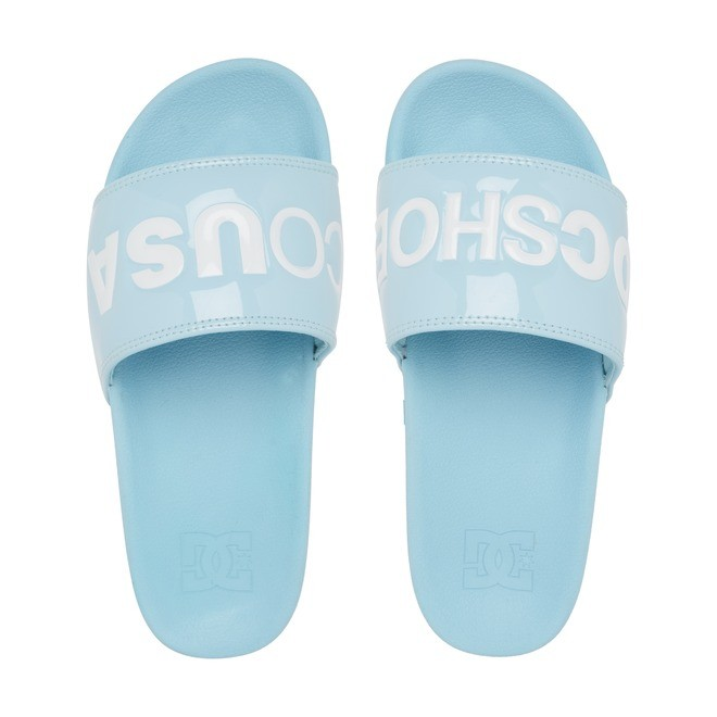 DC Slides - Platform Slides for Women  ADJL100031