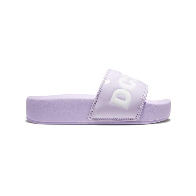 DC Slides - Platform Slides for Women  ADJL100031