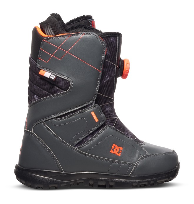 0 Search - Snowboard Boots Grey ADJO100010 DC Shoes