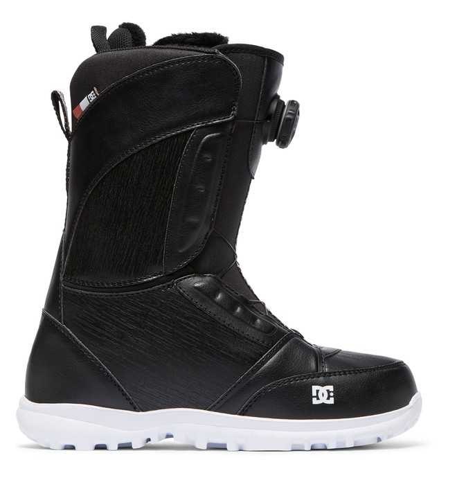 0 Women's Lotus BOA Snowboard Boots Black ADJO100016 DC Shoes