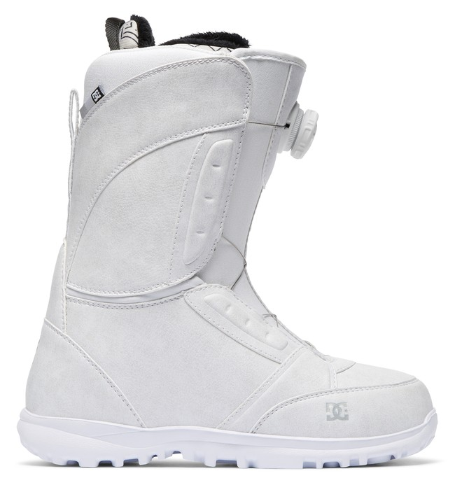 0 Women's Lotus BOA Snowboard Boots White ADJO100016 DC Shoes