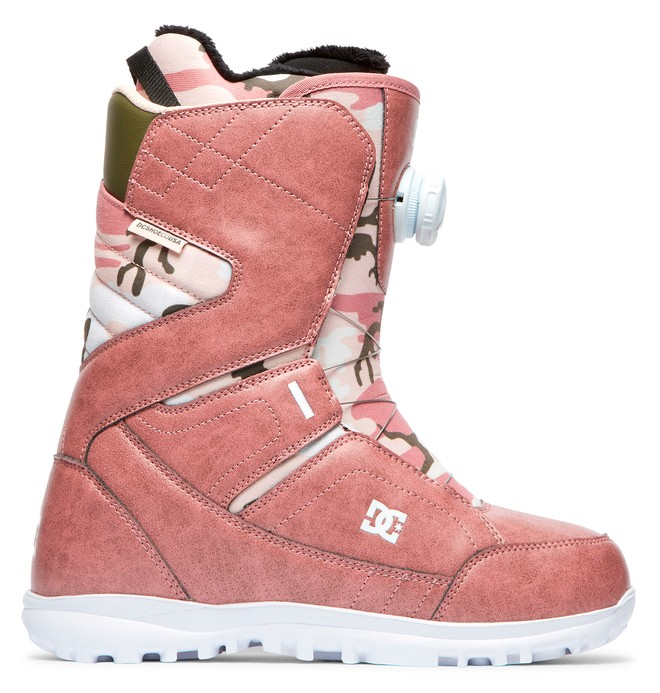 0 Search BOA® Snowboard Boots Pink ADJO100019 DC Shoes