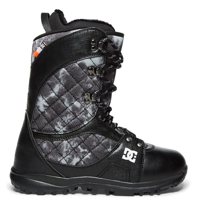 0 Karma - Boots de snow à lacets pour Femme Noir ADJO200011 DC Shoes