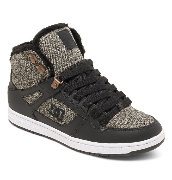 Rebound High WNT - Winterized High-Top Shoes for Women ADJS100054