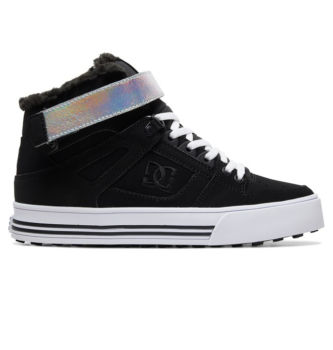 0 Pure Hi WNT - Zapatillas de Invierno Altas para Mujer Negro ADJS100125 DC Shoes