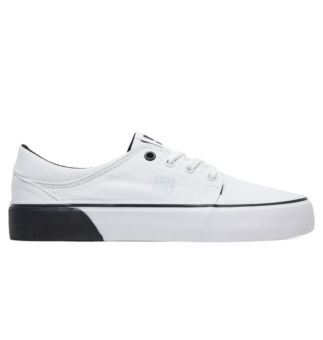 0 Women's Trase TX Shoes White ADJS300078 DC Shoes