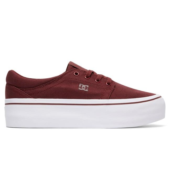0 Женские кеды на платформе Trase Platform TX Красный ADJS300184 DC Shoes