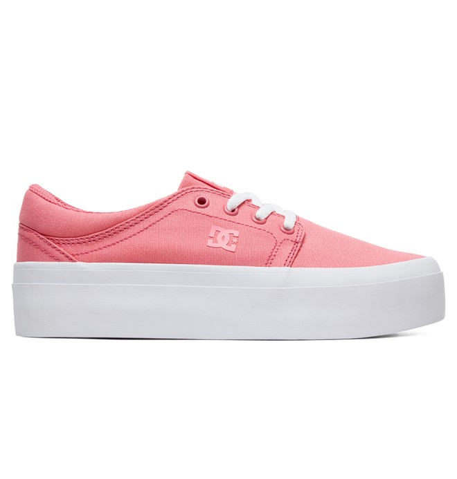 0 Women's Trase Platform TX Flatform Shoes Rosa ADJS300184 DC Shoes