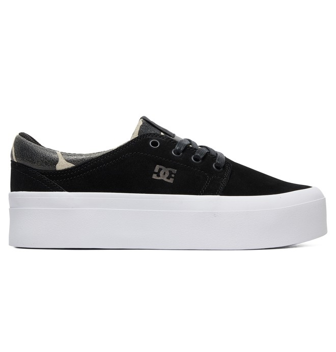 0 Women's Trase Platform SE Shoes Black ADJS300187 DC Shoes