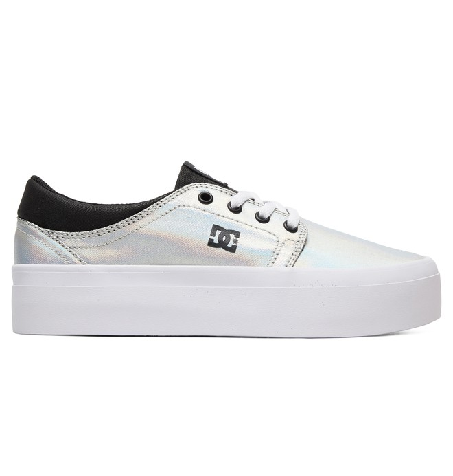0 Women's Trase Platform SE Shoes Grey ADJS300187 DC Shoes
