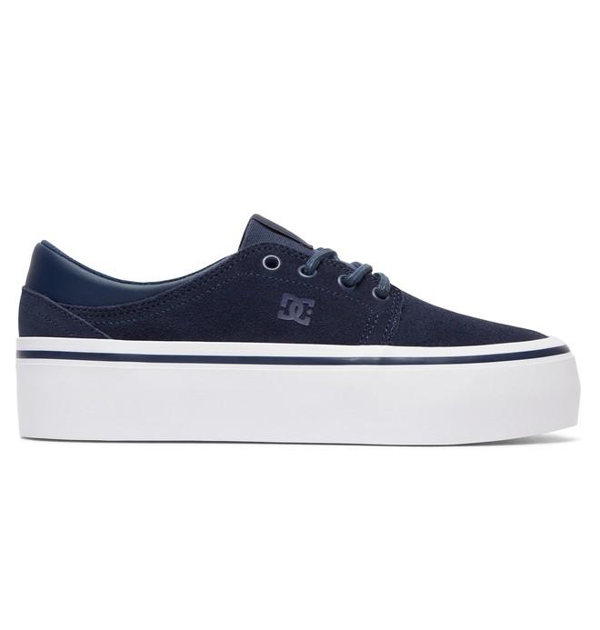 0 Trase Platform SE - Flatform Shoes Blue ADJS300187 DC Shoes