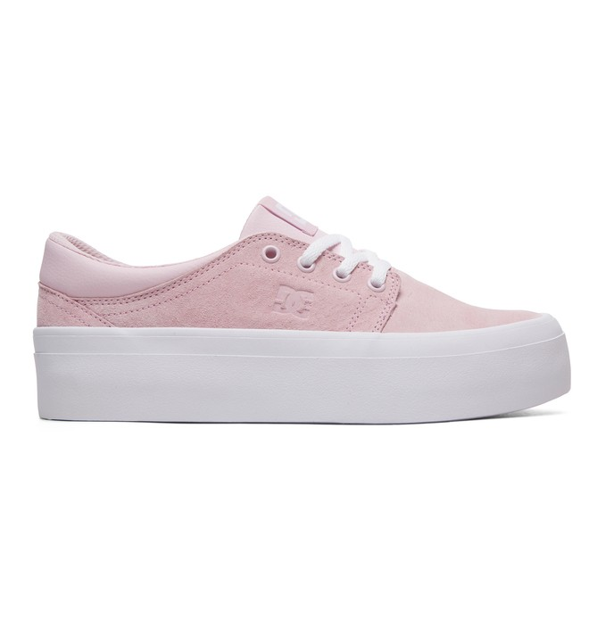 0 Trase Platform SE - Baskets pour Femme Rose ADJS300187 DC Shoes