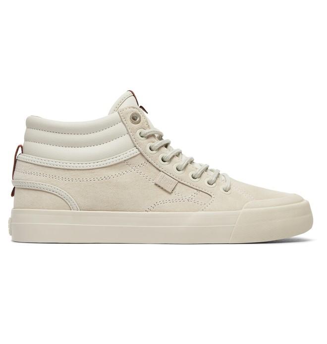 0 Women's Evan Hi - High-Top Leather Shoes  ADJS300189 DC Shoes